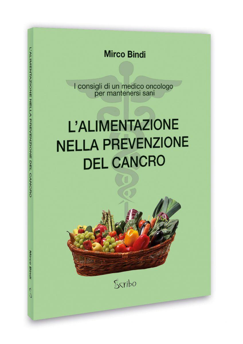 L'alimentazione nella prevenzione del cancro - Copertina 3D