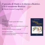 Locandina della presentazione di Il peccato di Dante e il ritorno a Beatrice