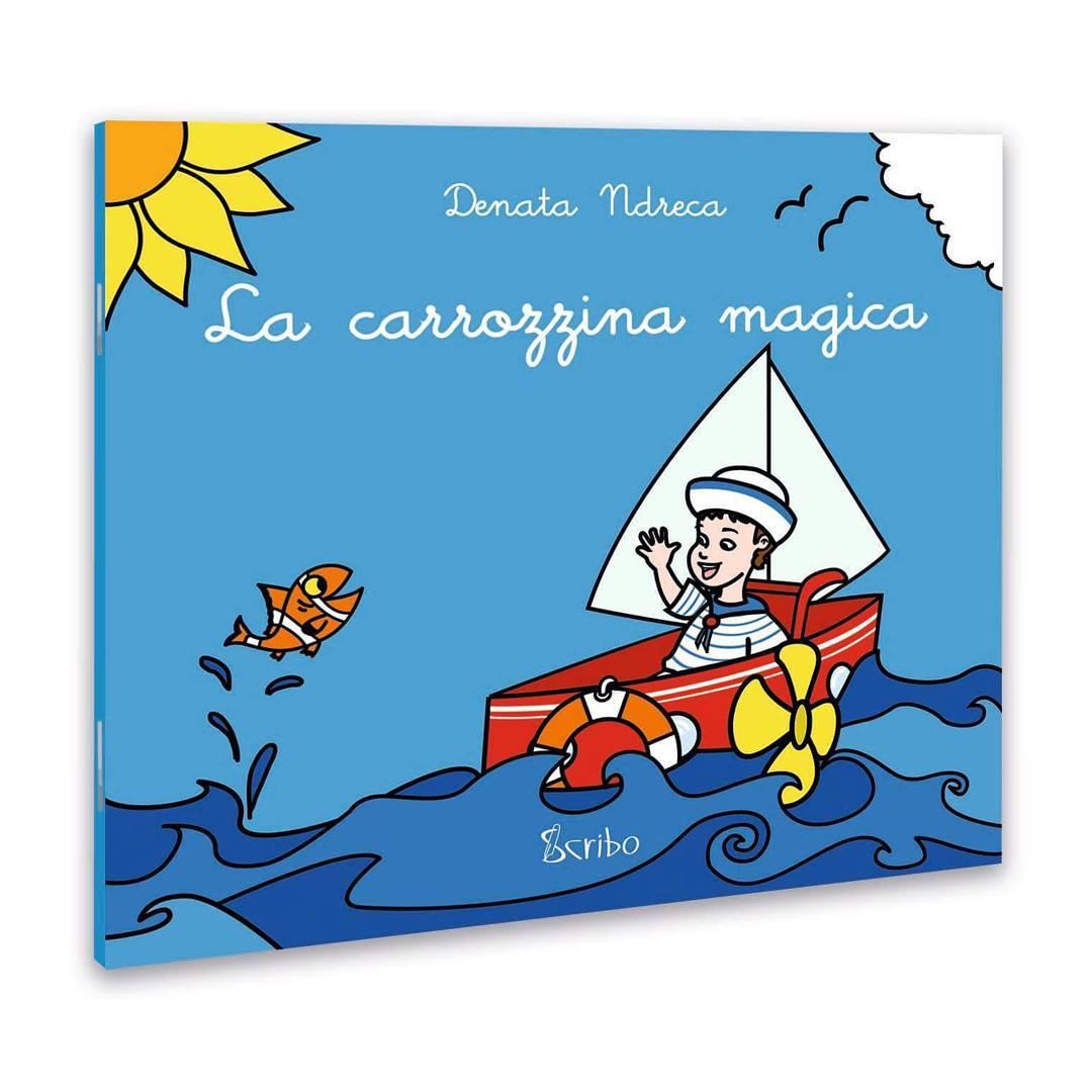 Copertina del libro 'La carrozzina magica' (3D)