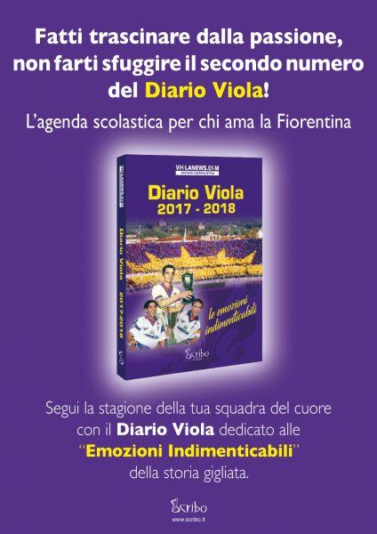 Diario Viola 2017 2018 Locandina